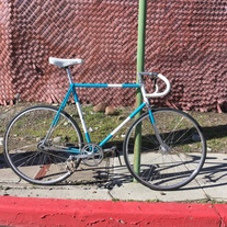 1972 Raleigh Professional pista
