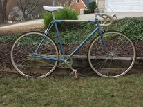 1975 Motobecane Fixed Gear Conversion