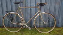 1985 Trek 420 single speed conversion
