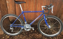 1987 Specialized Rockhopper conversion