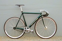 1993 Cannondale Track, Custom Green
