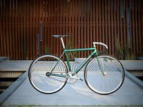 1995 Cannondale Track, Green