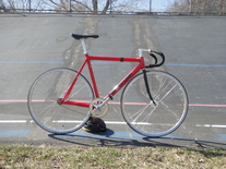 1997 Cannondale Track (Red)