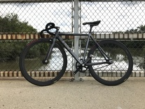 2015 Cinelli Parallax Charcoal 52cm