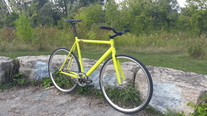 8bar KRZBERG V2 Lime Yellow