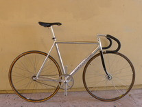 90's chrome CANNONDALE track bike 53cm photo