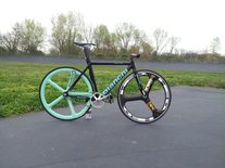 "BIANCHI SUPER PISTA 2013 BLACK ""PROJECT"" photo"
