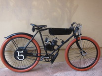 BOARD TRACK RACER motor bike project photo