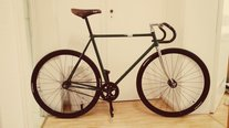 british racing green fixie