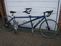 Cannondale road tandem photo
