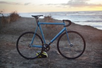 Cannondale Track '92—black & blue photo