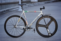 Cannondale Track, factory polished photo