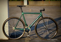 Cannondale Track, Icelandic Green