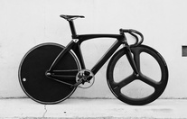 Carbon track bike - sold :3 photo