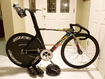 China Full Carbon Track Bike