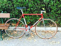 Colnago Super Pista FCI 54x54 mid 1980 photo