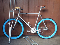 Custom Silver State Bicycle 59cm