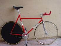 DANISH SCHRODER PURSUIT TRACK bike photo