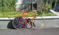 Diamant Belgian Track Bike