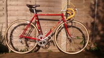 "Eddy Merckx ""signature"" Professional photo"
