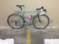 55cm BIANCHI Veloce w/Campy Record