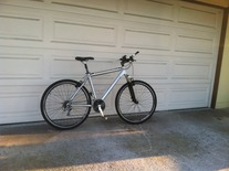 Hardtail 29er Commuter bike photo