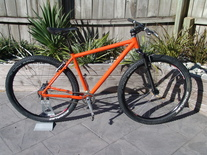KHS single speed 29er - pimped photo