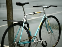 Makino NJS Blue Silver Rainbow flake