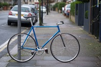 Makino NJS commuter with mudguards