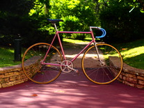Mercier Pink Track Bike