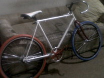 My fixie bike photo