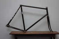 Mystery Lugged Track Bike (For sale) photo