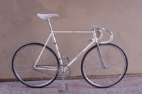 pearl white 80's 3RENSHO track bike photo