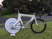 Pearson 1992 Olympic games bike photo