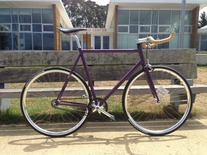Purple Bareknuckle (Gates drivetrain) photo