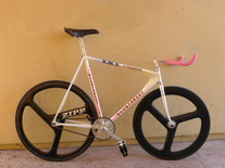 RYCHTARSKI PURSUIT track bike / POLISH photo