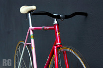 Samson NJS - Pink Sakura White Fade photo
