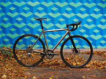 Titanium Disc Cross