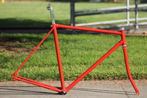Unknown Red Orange Lugged Track