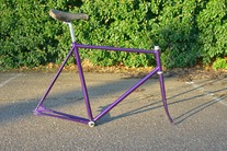 Purple  trackframe ( sold )