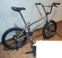 "WTP Zodiac 20"" BMX 2013 photo"