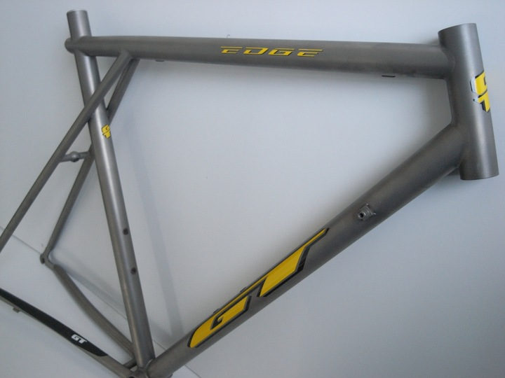 GT Edge Titanium Roadbike Frame matte finish - Pedal Room