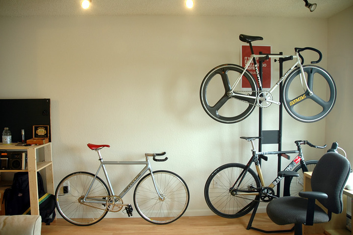 Bike Storage Pedal Room
