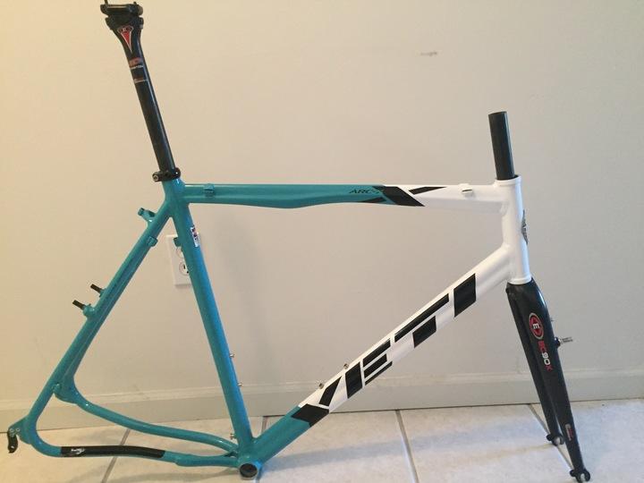 FS: XL Yeti ARC X Frame & Fork - Pedal Room