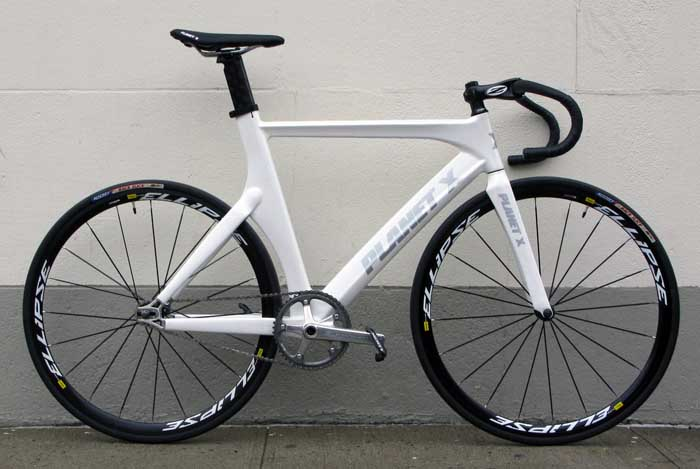 Fs Planet X Carbon Track Frameset White 58 Cheap