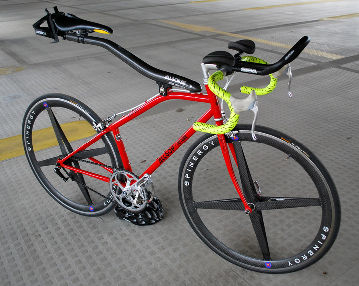 Cannondale Bikes For Sale >> FS: allsop SOFTRIDE singlespeed / spinergy rev X - Pedal Room