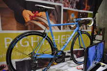 English Cycles Blue Road Bike