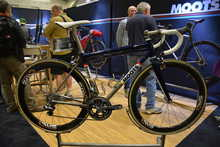 Moots Blue Titanium Road Bike