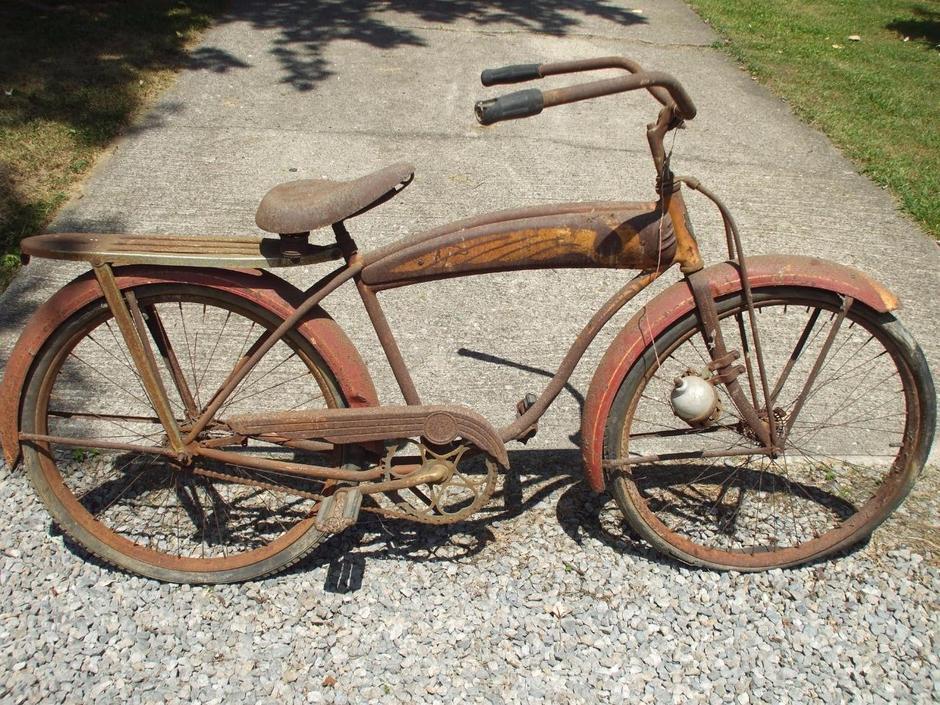 1947 American Flyer Dx 1 Schwinn Pedal Room