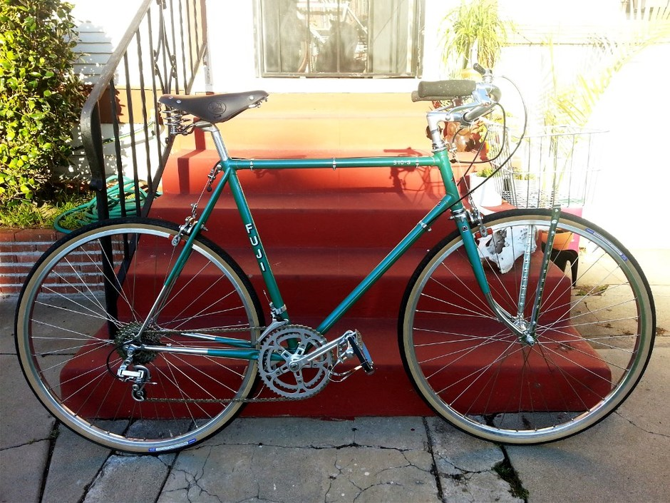 1977 Fuji S10 S 12 Speed Townie Pedal Room